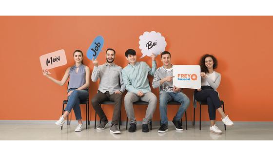Logo FREY Zeitarbeit GmbH