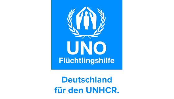 Logo UNO-Flüchtlingshilfe
